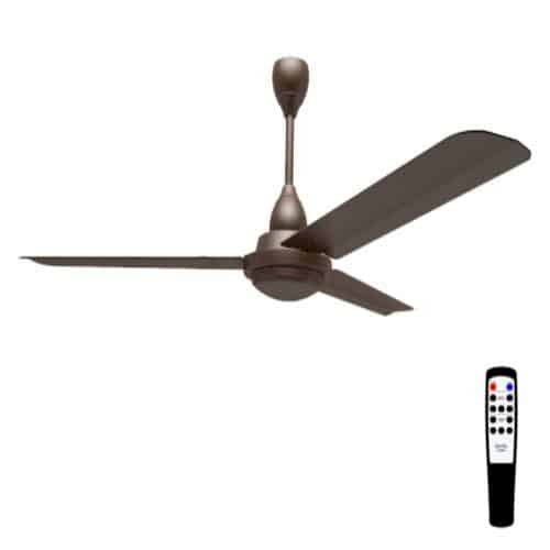 The fans with remote are easy to operate.