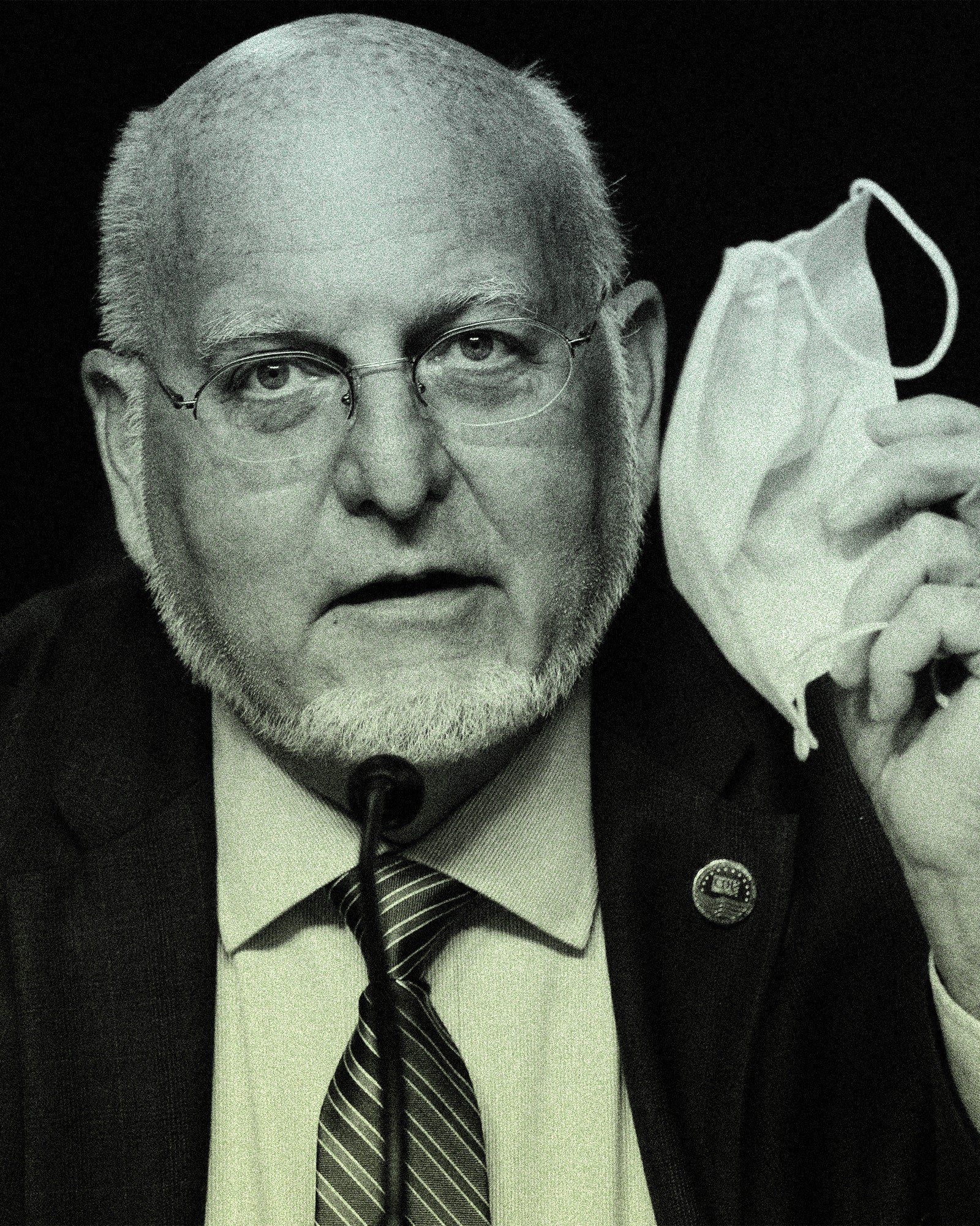 """Dr. Robert Redfield, former director of the CDC, said he received death threats from fellow scientists after telling CNN he thought the virus likely escaped from a lab. """"I expected it from politicians. I didn't expect it from science,"""" he said.By Andrew Harnik/Getty Images."""