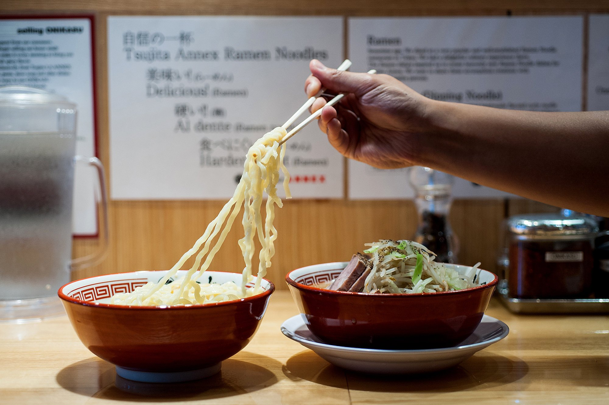 "Regular ""Jiro-style"" ramen at Tsujita ANNEX in Los Angeles."