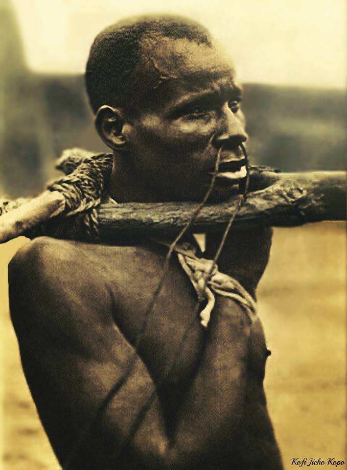 The suffering of Africans who underwent colonization