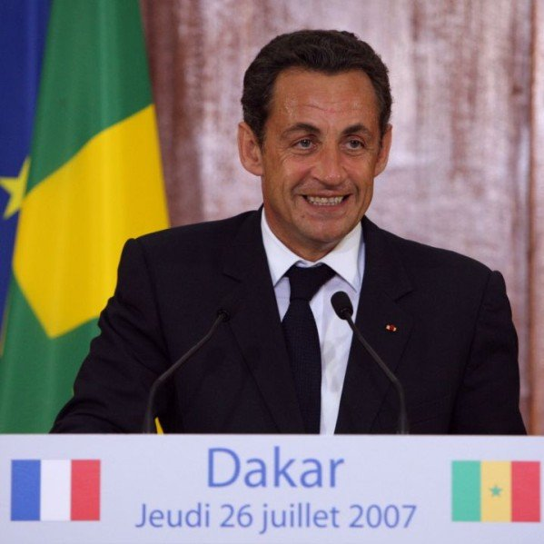 The infamous speech of French President Nicolas Sarkozy in Dakar, in which he said that the African man had never entered history and where he praised the building role of the colonizers.