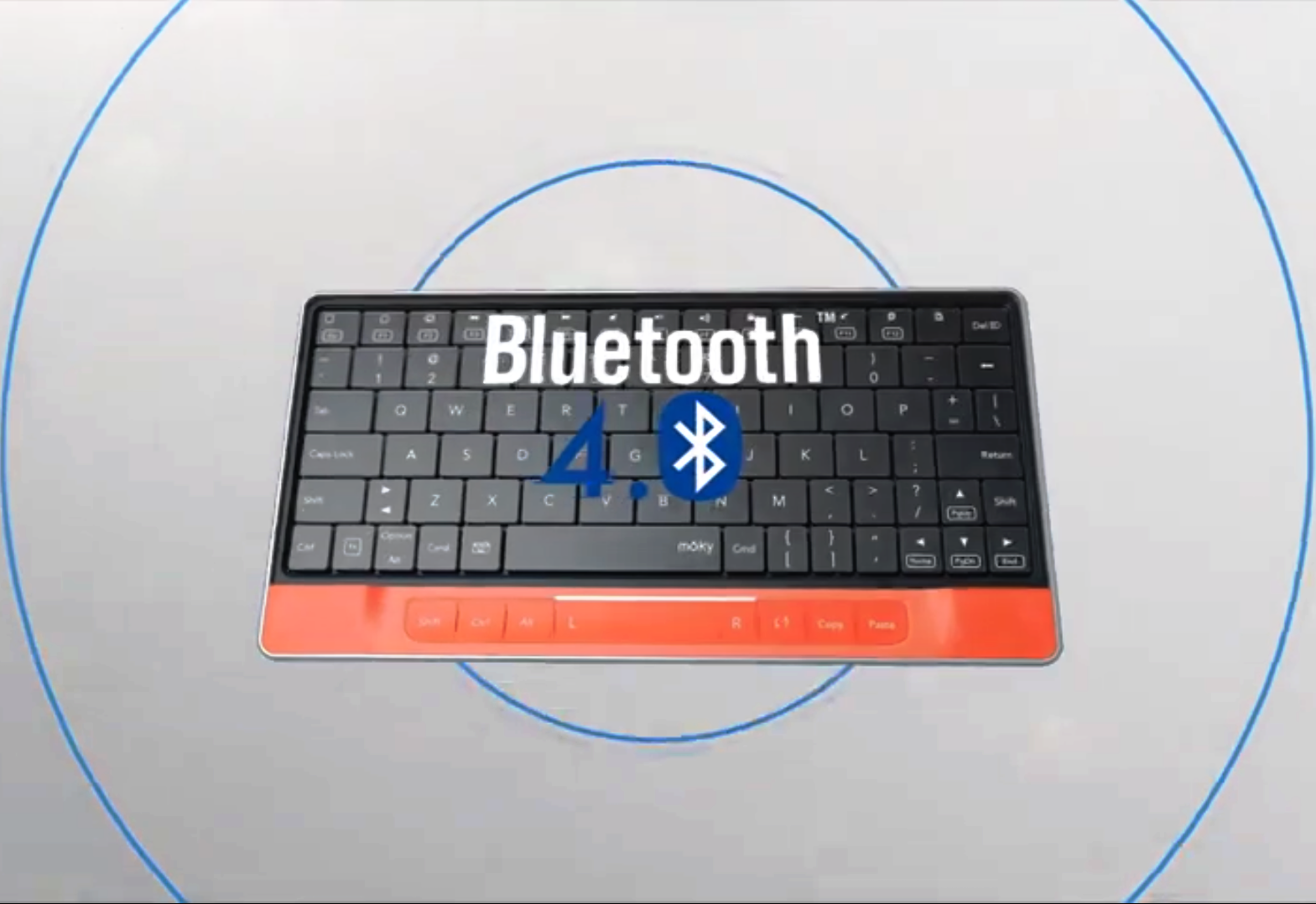 Moky Invisible Touchpad Keyboard Can Change Your Typing Experience