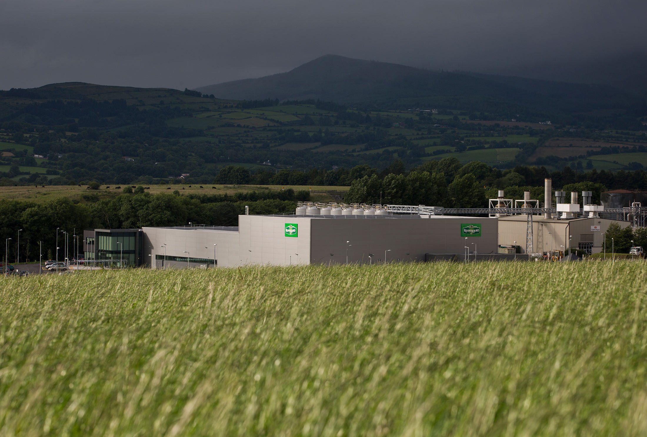The facility at Kerrygold Park is capable of producing up to 50,000 tons of butter per year.