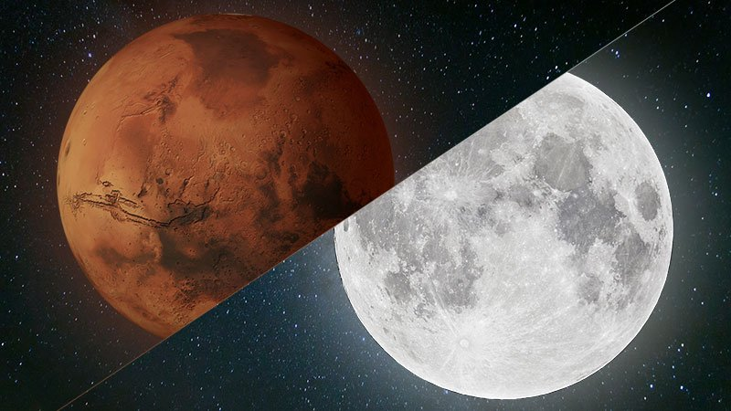 Mars or the Moon? It's a debate that has bedeviled NASA for decades.