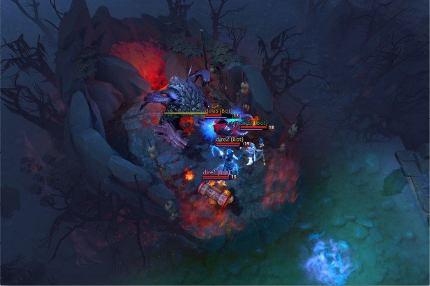 Five algorithms work together to outwit five humans in the battlefield-based video game Dota 2.courTesy image