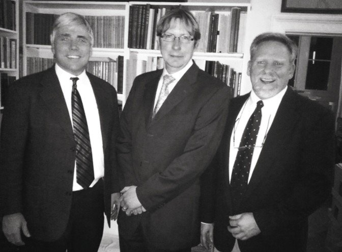 Scott Carroll, Dirk Obbink, and Jerry Pattengale