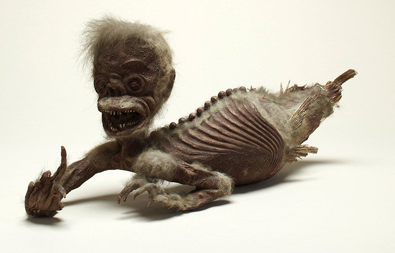 'Feejee Mermaid'. Photo courtesy the Wellcome Collection