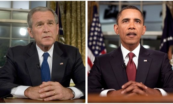 Neither George W. Bush nor Barack Obama was subjected to serious attempts at impeachment despite facing highly partisan opposition in Congress.