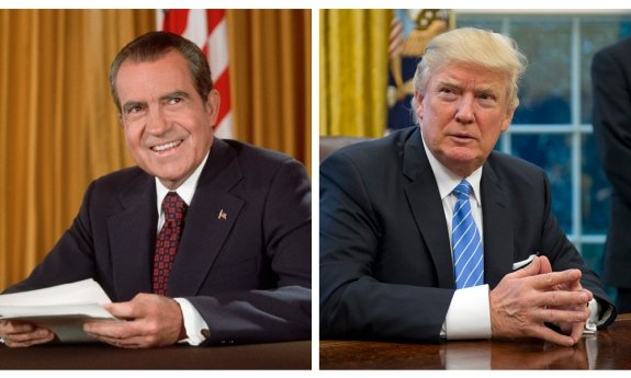 Trump's firing of Comey might have constituted obstruction of justice, one of the two charges that the House used to impeach Clinton and one of the three charges that the House Judiciary Committee recommended against Nixon.