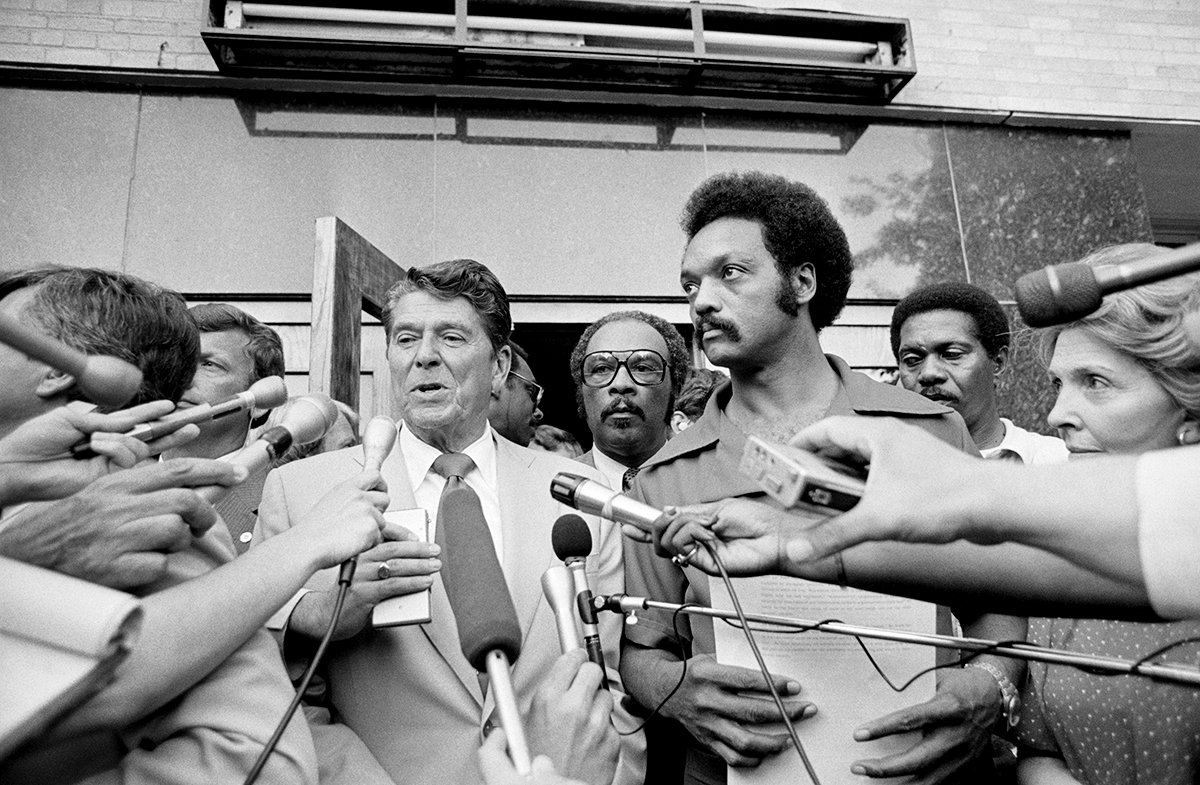 """The Republican Party needs black people,"" Jackson said in 1978. Two years later, Ronald Reagan would go on to win only 14 percent of their votes."