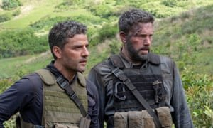 Oscar Isaac and Ben Affleck in Triple Frontier. Photograph: Melinda Sue Gordon/Netflix