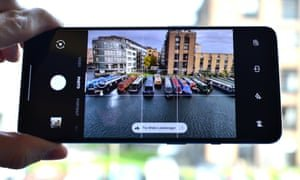 The OnePlus camera app is simple and effective, with an improved Night Scape and new super macro mode. Photograph: Samuel Gibbs/The Guardian