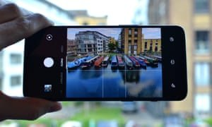 The OnePlus camera app is pretty good, with all the features you need a swipe away. Photograph: Samuel Gibbs/The Guardian