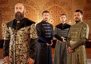 Magnificent Century, based on the life of Suleiman the Magnificent, the 10th Ottoman Sultan. Photograph: Tims Productions