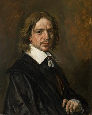 The Frans Hals painting, Portrait of a Gentleman, supplied to Sotheby's by Mark Weiss. It sold for a reported £8.5m
