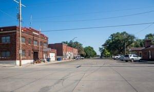 Burton, Kansas, where the last food shop closed 20 years ago. Photograph: Kacy Meinecke/The Guardian