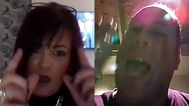 Media playback is unsupported on your device                                           Media captionJen McAdam has a fiery Skype call with cryptocurrency enthusiast Tim Curry