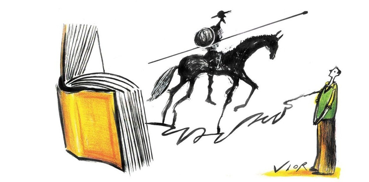"""No lo dijo pero casi. """"Ladran Sancho"""", una frase mal atribuida al Quijote de Cervantes. / Vior"""