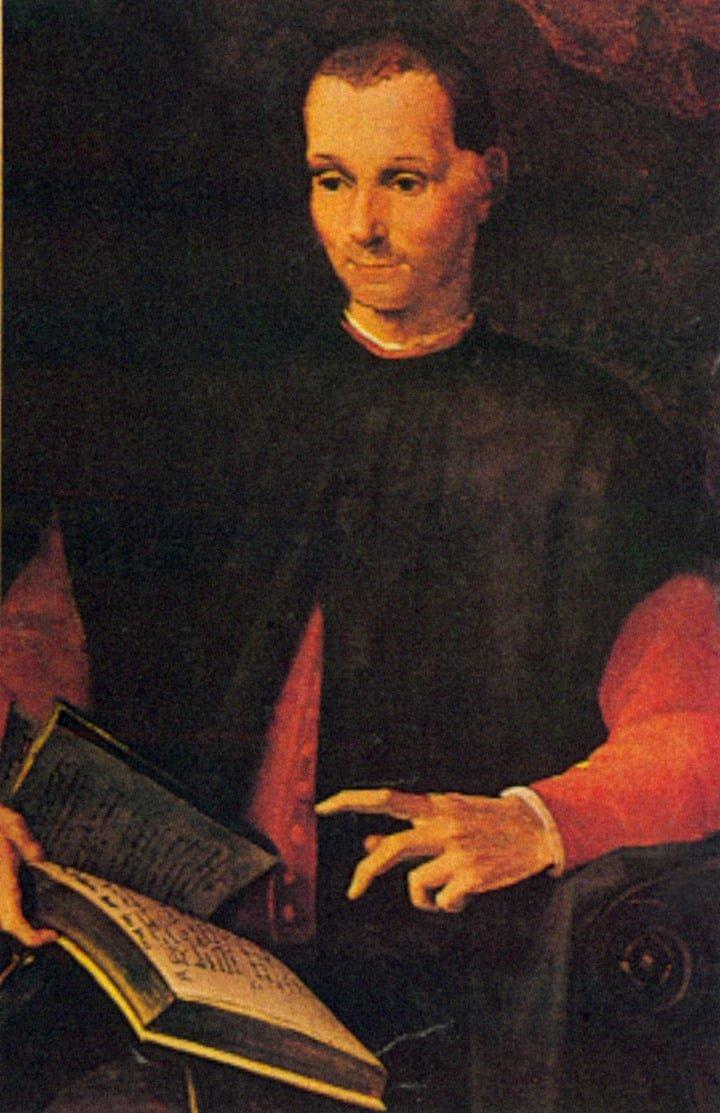 """El fin y los medios. """"La frase puede pensarse claramente reduccionista de la obra de Maquiavelo, pero es una de las conclusiones de su ensayo"""", dice la semióloga López Barros."""