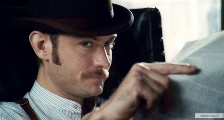 Watson por Jude Law. La llegada del detective a la pantalla trajo aparejada la frase célebre.