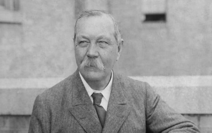 Arthur Conan Doyle / Gentileza Biblioteca Nacional.