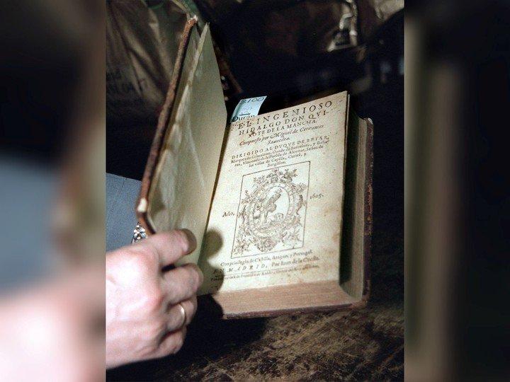 Primeras ediciones de Don Quijote de la Mancha.