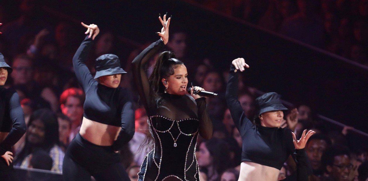 Rosalia, en los premios MTV./ AP
