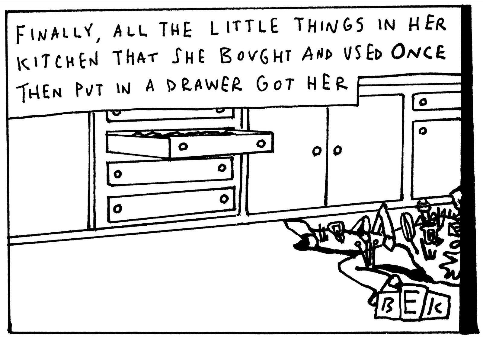 Cartoon by Bruce Eric Kaplan