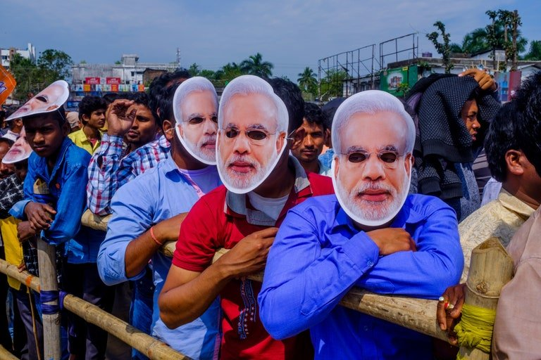 """""""People genuinely feel that Muslims are terrorists—and it is because of Modi that Muslims are finally under control,"""" Nirjhari Sinha, a scientist in Gujarat, said."""