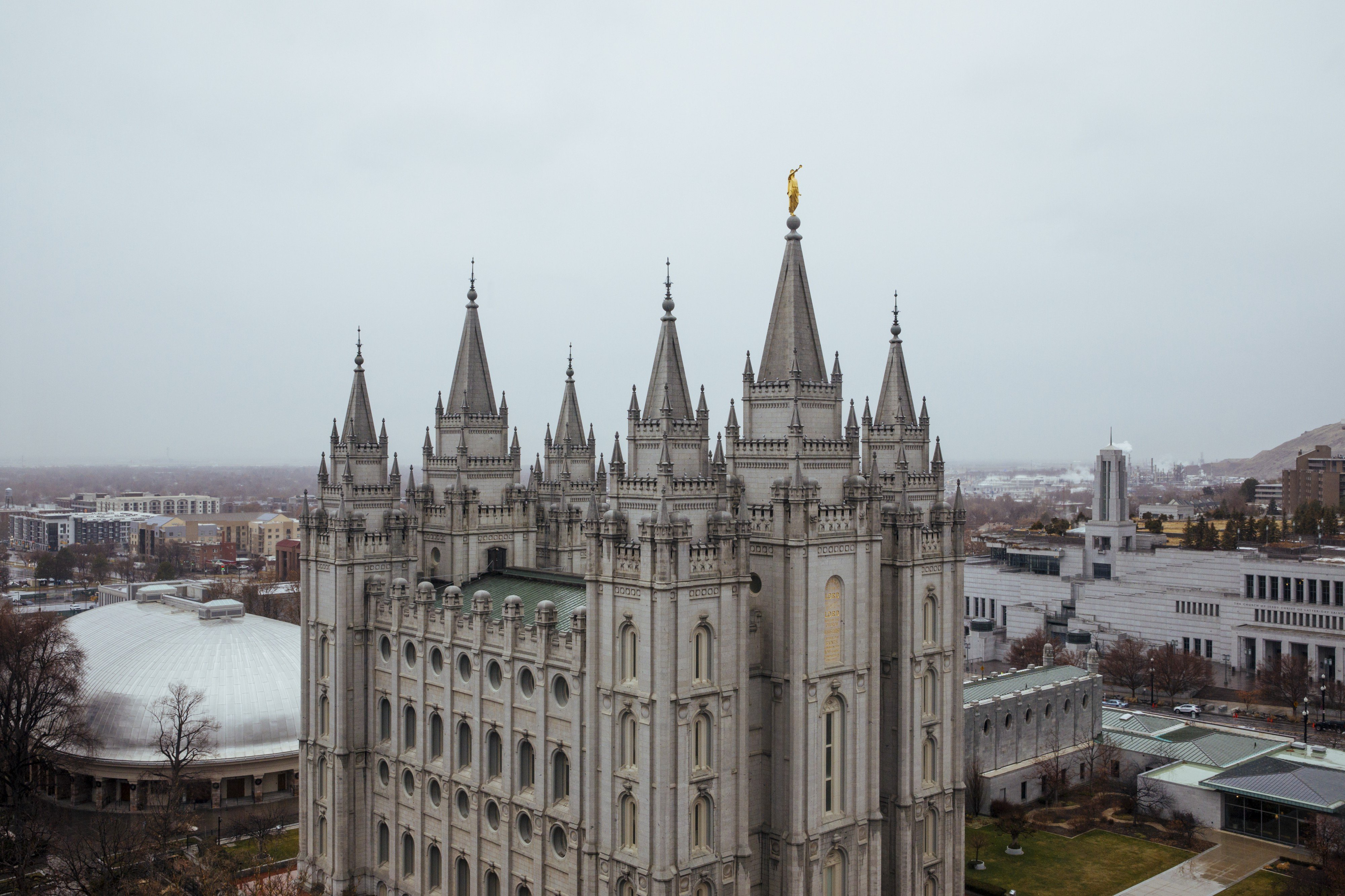 The Salt Lake Temple is the center of the universe in Utah, where members of the politically and socially conservative Church of Jesus Christ of Latter-day Saints make up 62 percent of the state's 3.2 million population. Mormons have long been a quiet force in business, including the founders of WordPerfect, Novell, and JetBlue.