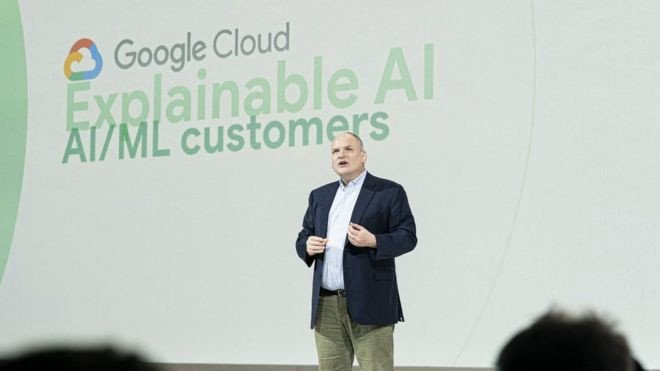 Prof. Andrew Moore in London for Google Cloud explainable AI service launch, source