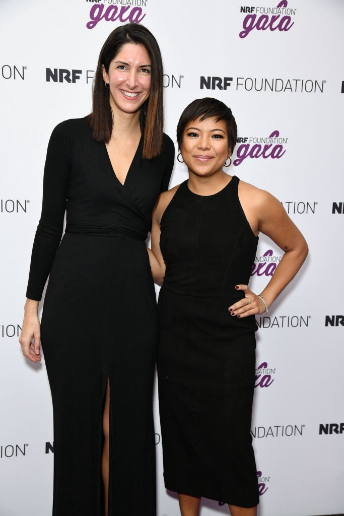 Away co-founders Steph Korey and Jen Rubio. Photo: Jared Siskin/Patrick McMullan/Getty Images