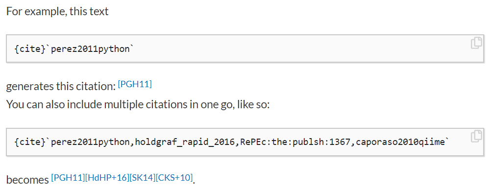 A sample citation. Here we see how you can include citation syntax in-line with your markdown, and then insert a bibliography later on in your page.