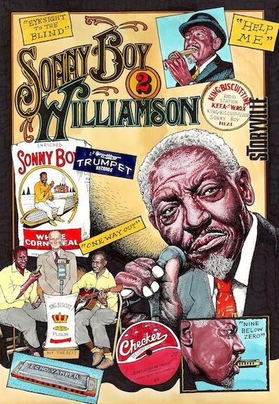 """Fred Carlson """"Sonny Boy Williamson II"""""""