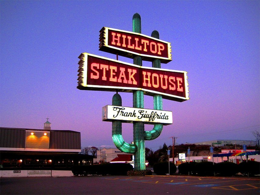 The Hilltop Steakhouse, Saugus, Massachusetts. Photo by Bold Willie/Flickr.