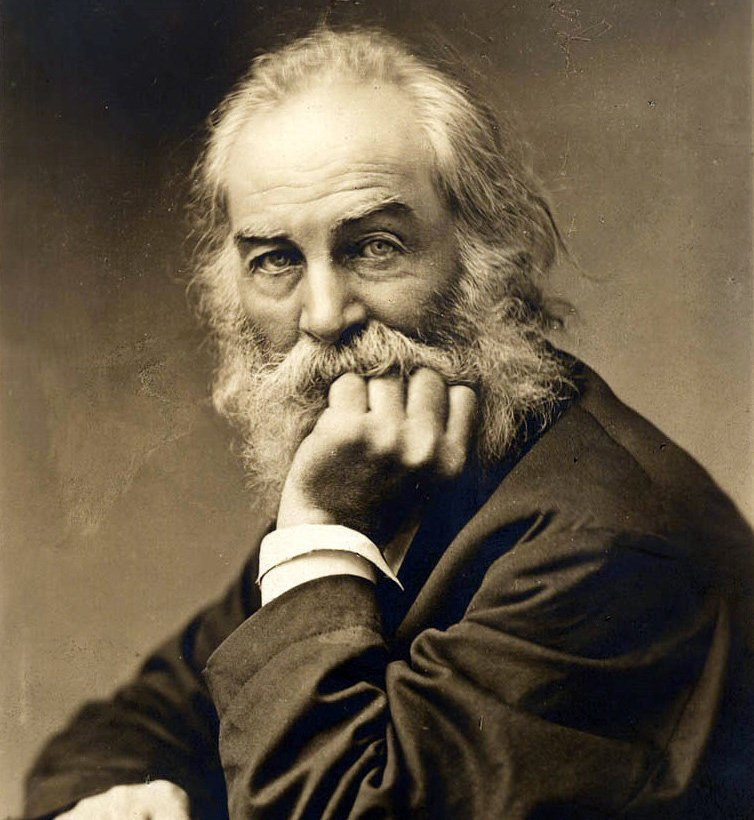 Walt Whitman                             Photo by: Library of Congress