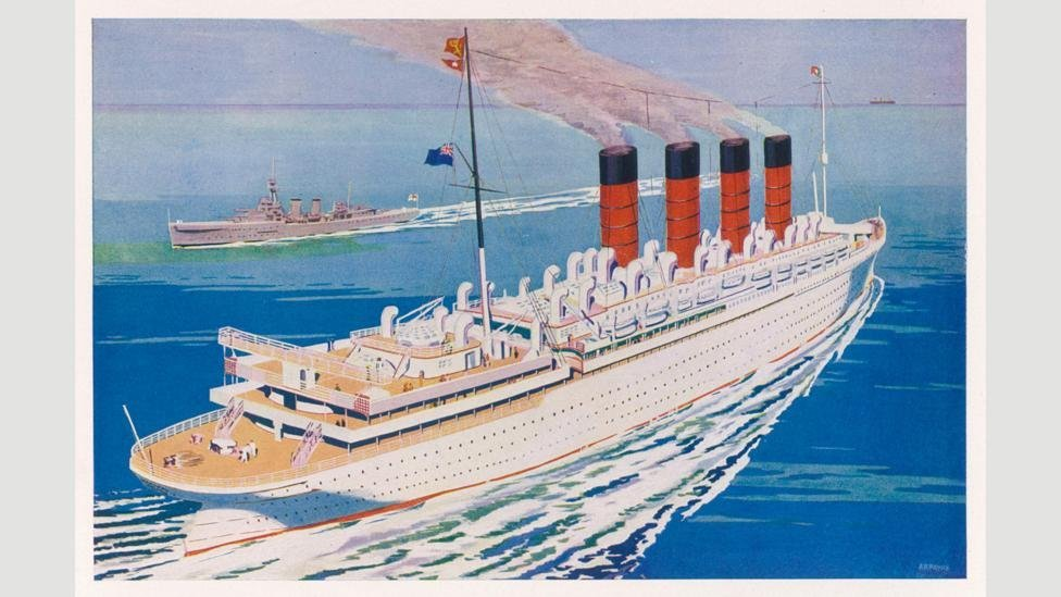 Despite Cunard's best efforts, by the late 1950s more people were flying than taking ships to their destinations. Credit: Alamy.