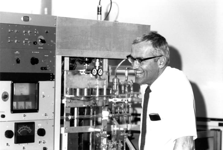 Clair Patterson. Photo courtesy of the Archives, California Institute of Technology.