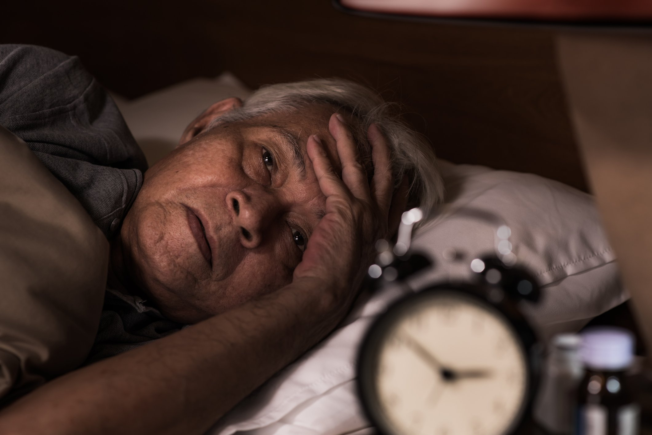'If you find yourself waking regularly during the night, flag it with your GP so they can consider any possible underlying causes.' Photo by amenic181 / iStock / Getty Images.