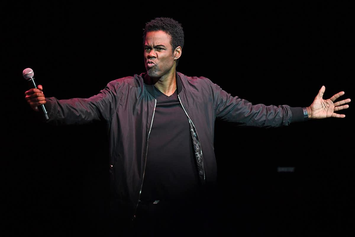 How rich are the rich? Chris Rock knows. Photo from mpi04/MediaPunch/IPX.