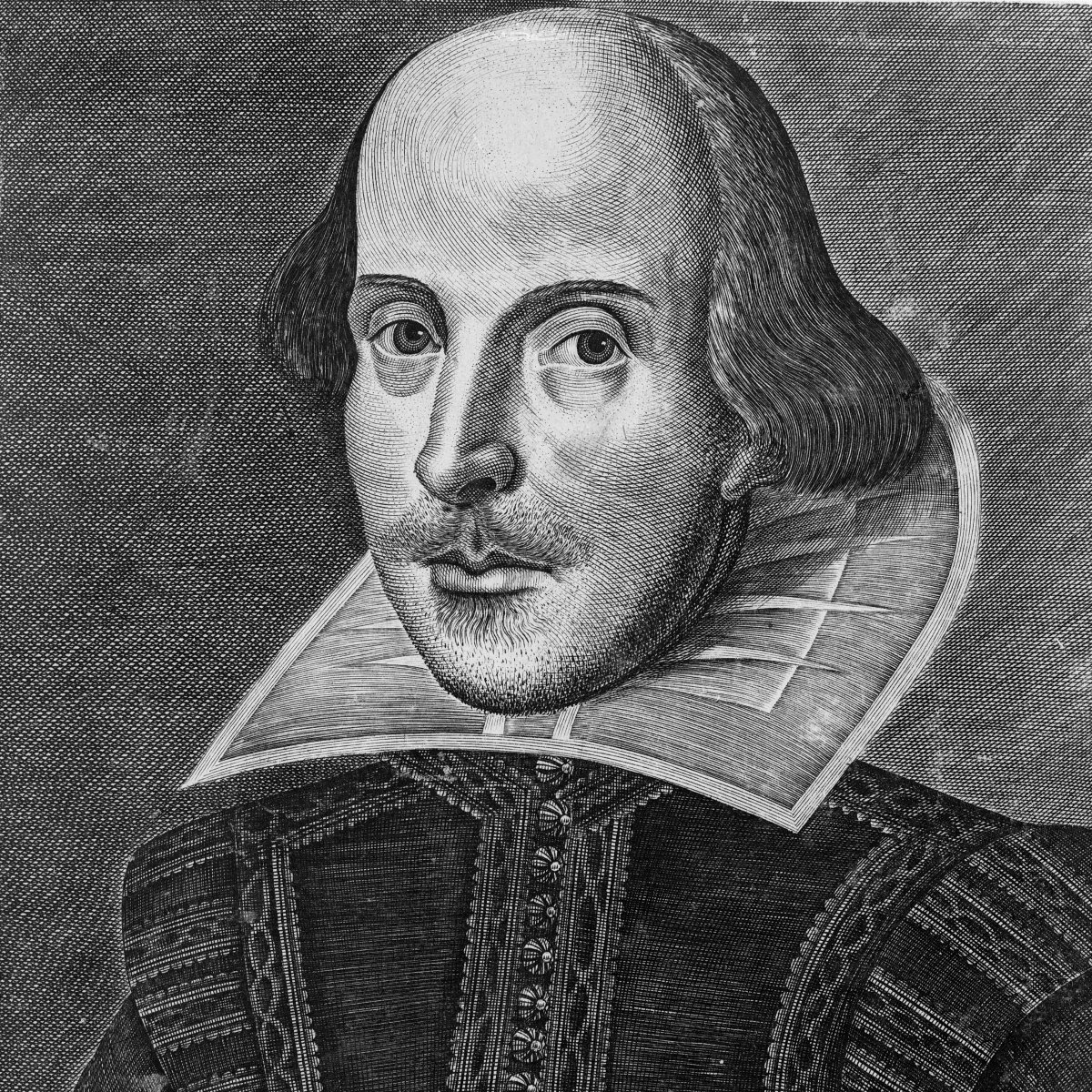 Martin's Droeshout portrait of William Shakespeare