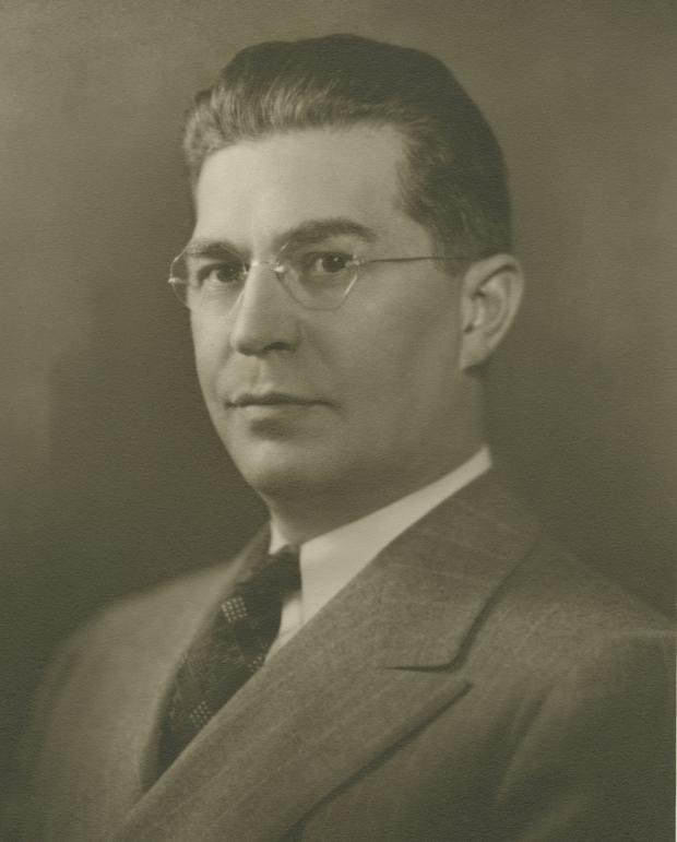Robert Kehoe in the 1930s. Photo courtesy of the Henry R. Winkler Center for the History of the Health Professions, University of Cincinnati Libraries.