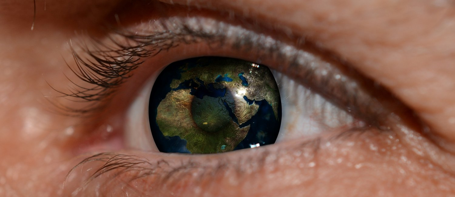 How do you see the world? Photo from pixabay.com.
