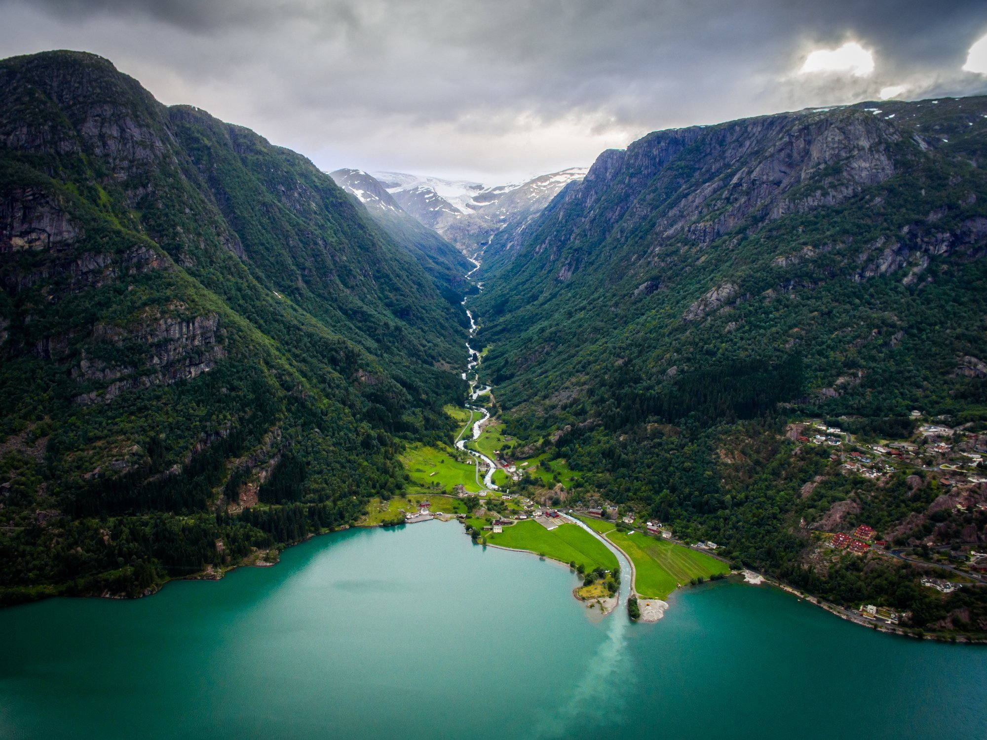 Stunning views in Hordaland, Norway. Photo by Copyright Morten Falch Sortland / Getty Images.