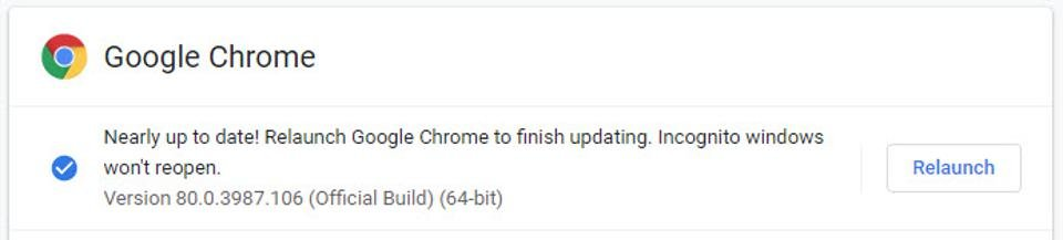 Google Chrome 80 is seamlessly updating on hundreds of millions of devices around the world    Gordon Kelly