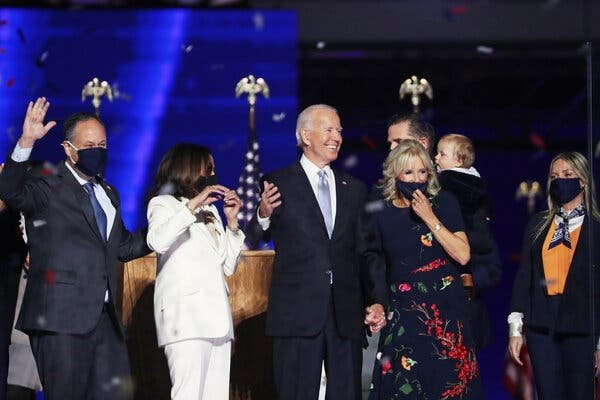 Joseph R. Biden Jr. ran as a determined pragmatist, believing that his party would embrace him as its best chance to beat President Trump.