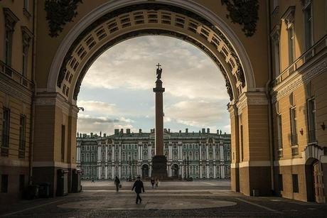 Quảng trường Cung điện ởSt. Petersburg