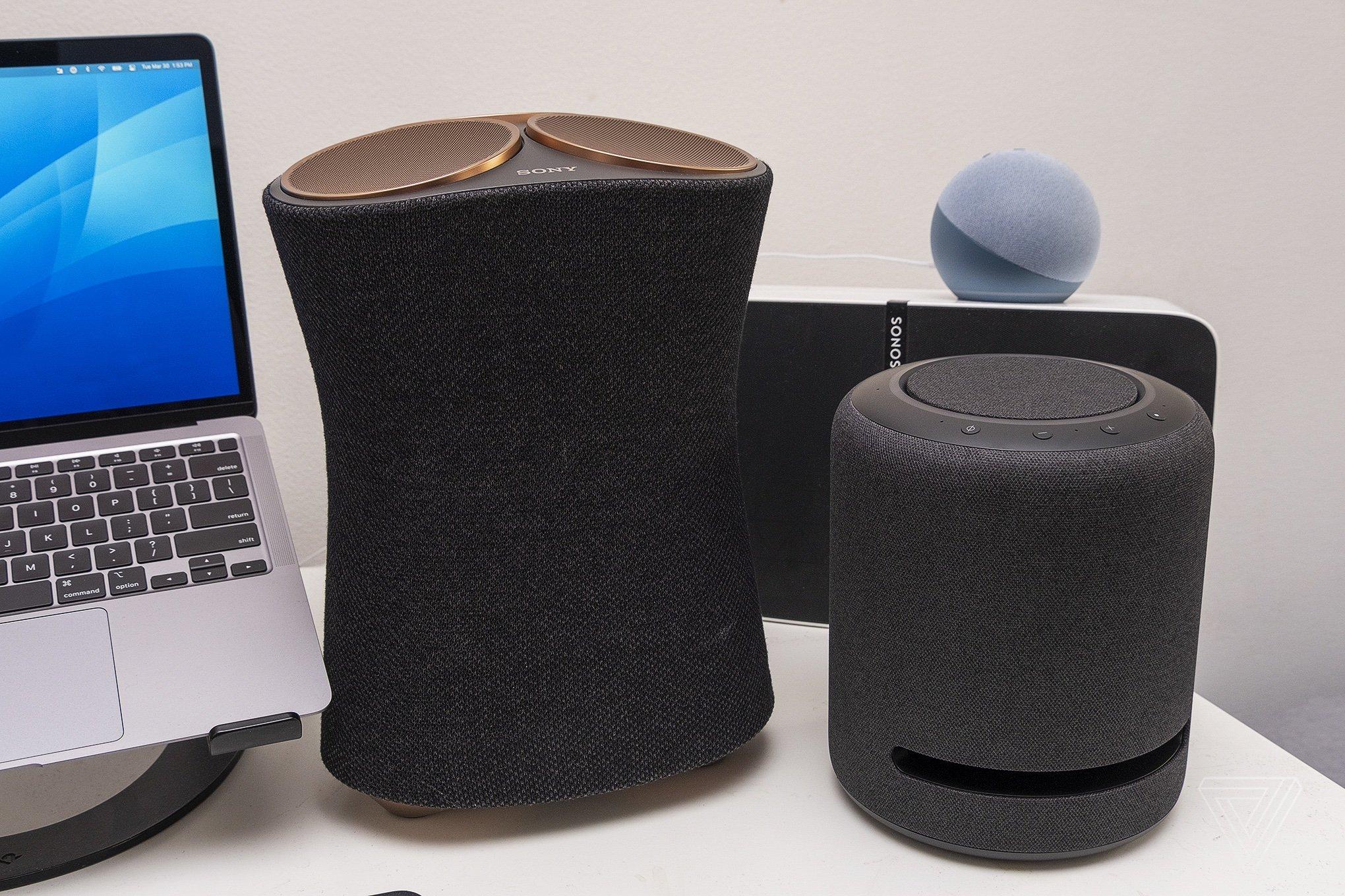 It dwarfs most other smart speakers.