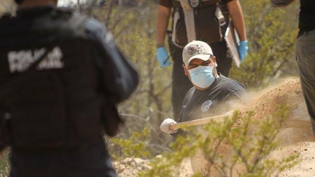 Pie de foto, Desde el año 2006, se registran 85.000 personas desaparecidas en México, según datos oficiales del gobierno.
