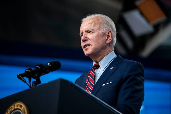 President Biden intends to use his two-day virtual summit on climate change to demonstrate to the world that the Trump administration's approach to the issue was an aberration.Credit...Al Drago for The New York Times